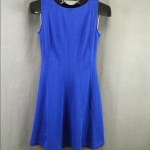 Apt. 9 Royal Blue Fit & Flare Dress